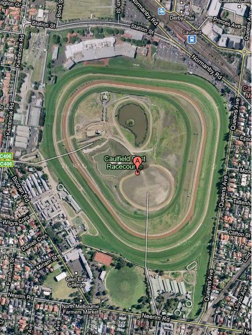 Where Is Caulfield Racecourse